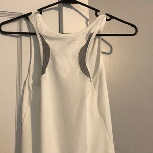 Under Armour Tops - NWOT Ribbed White Under Armour Tank Top